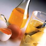 Яичное масло или масло из яичного желтка для лица