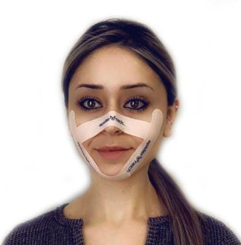 Тейпирование лица от морщин - омоложения кожи без оперативных вмешательств